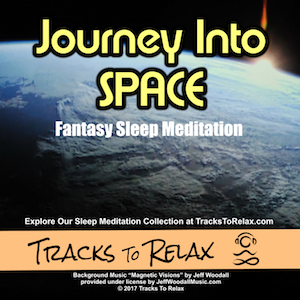 Journey into space sleep meditation