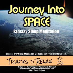 Journey into space sleep meditation