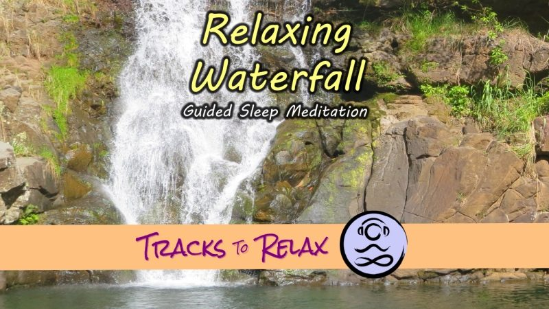 Relaxing waterfall