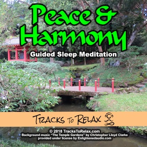 Peace and harmony sleep meditation