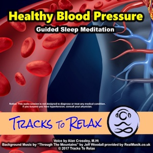 Healthy blood pressure sleep meditation