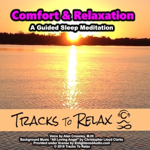 Comfort and relaxation sleep meditation