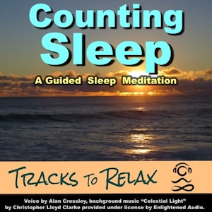 Counting sleep meditation