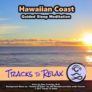 Hawaiian coast sleep meditation