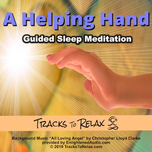 helping hand sleep meditation