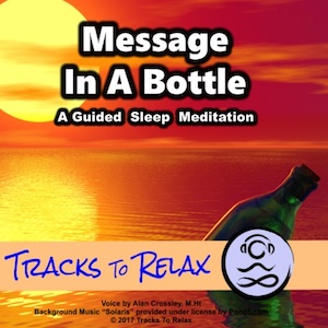 message in a bottle sleep meditation