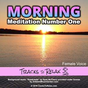 Morning meditation positie expectations (female voice)