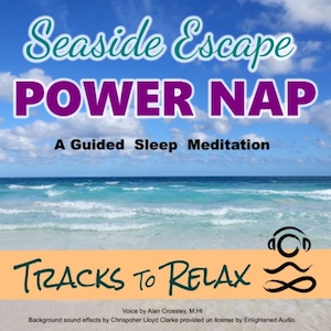 Seaside power nap meditation