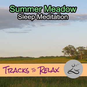 Summer meadow sleep meditation