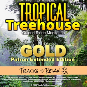 Tropical Treehouse Gold Sleep Meditation
