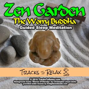 Zen Garden Worry Buddha