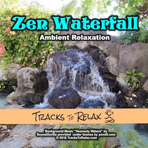Zen Waterfall Ambient Meditation