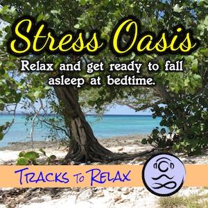 Stress oasis meditation