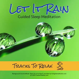 Let it rain sleep meditation