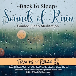 Sounds of rain sleep meditation