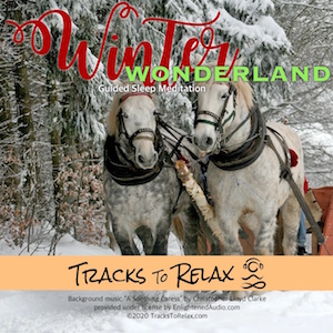 winter wonderland christmas sleep meditation